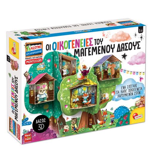 """Picture of Επιτραπέζιο Εκπαιδευτικό Παιχνίδι """"Οι Οικογένειες του Μαγεμένου Δάσους"""" Lisciani 76826"""