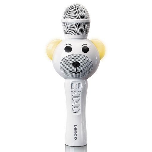 Picture of Παιδικό Μικρόφωνο Karaoke Bluetooth Lenco BMC-060WH